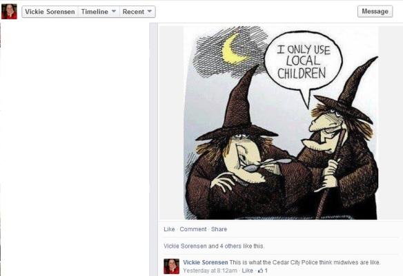 vickie sorensen witch cartoon