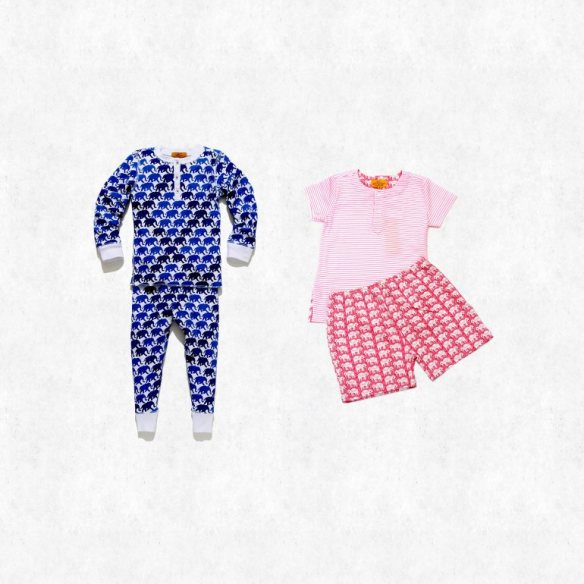About 32,000 pairs of high-end children's pajamas are being recalled due to the risk of fire. The pajamas are made by Roberta Roller Rabbit and were sold between 2012 and February of this year. (Photo Credit: CPSC)